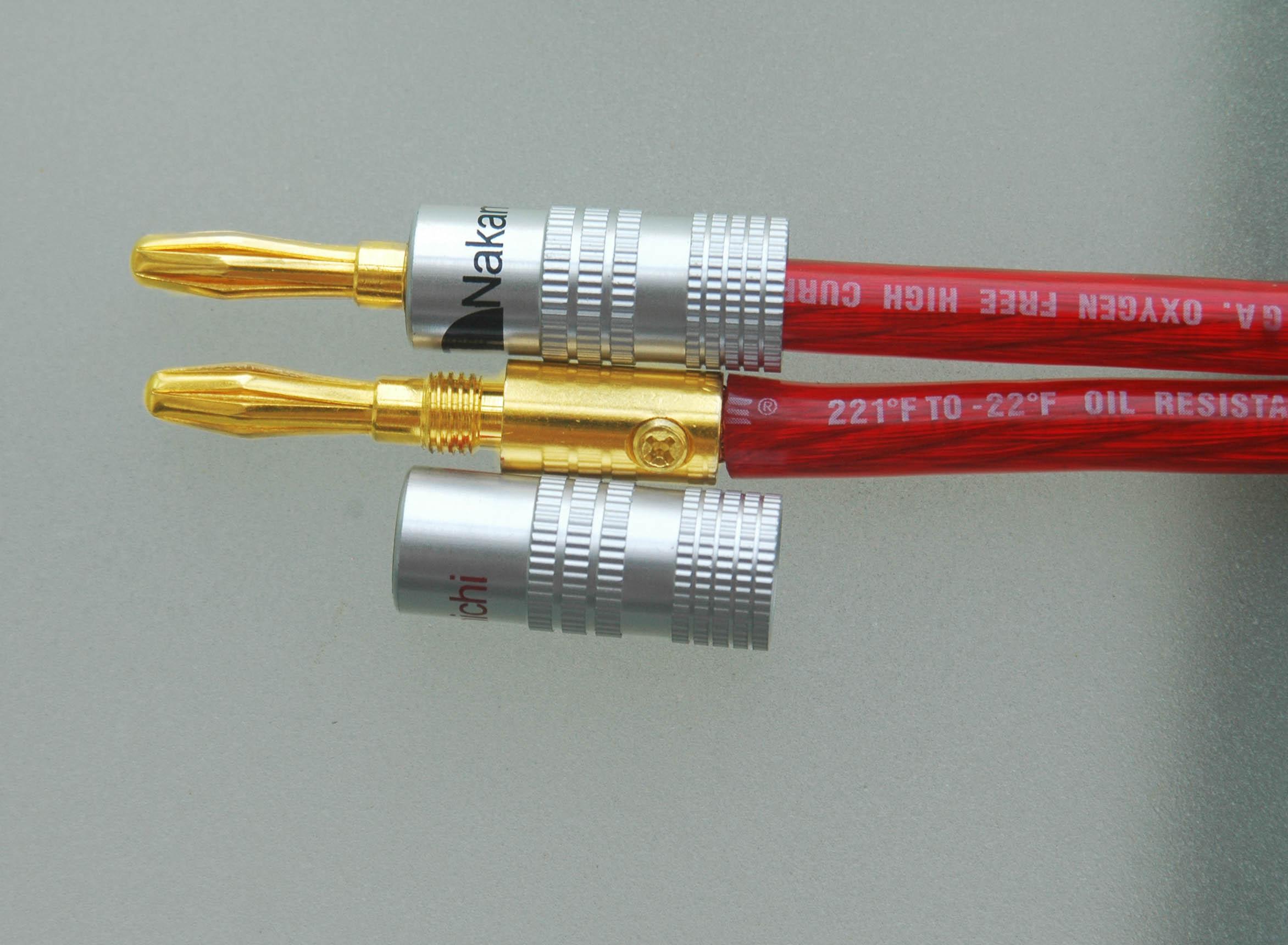Nakamichi Speaker banana plug 24K Gold Plated WBB0534N – Nakamichi Plugs