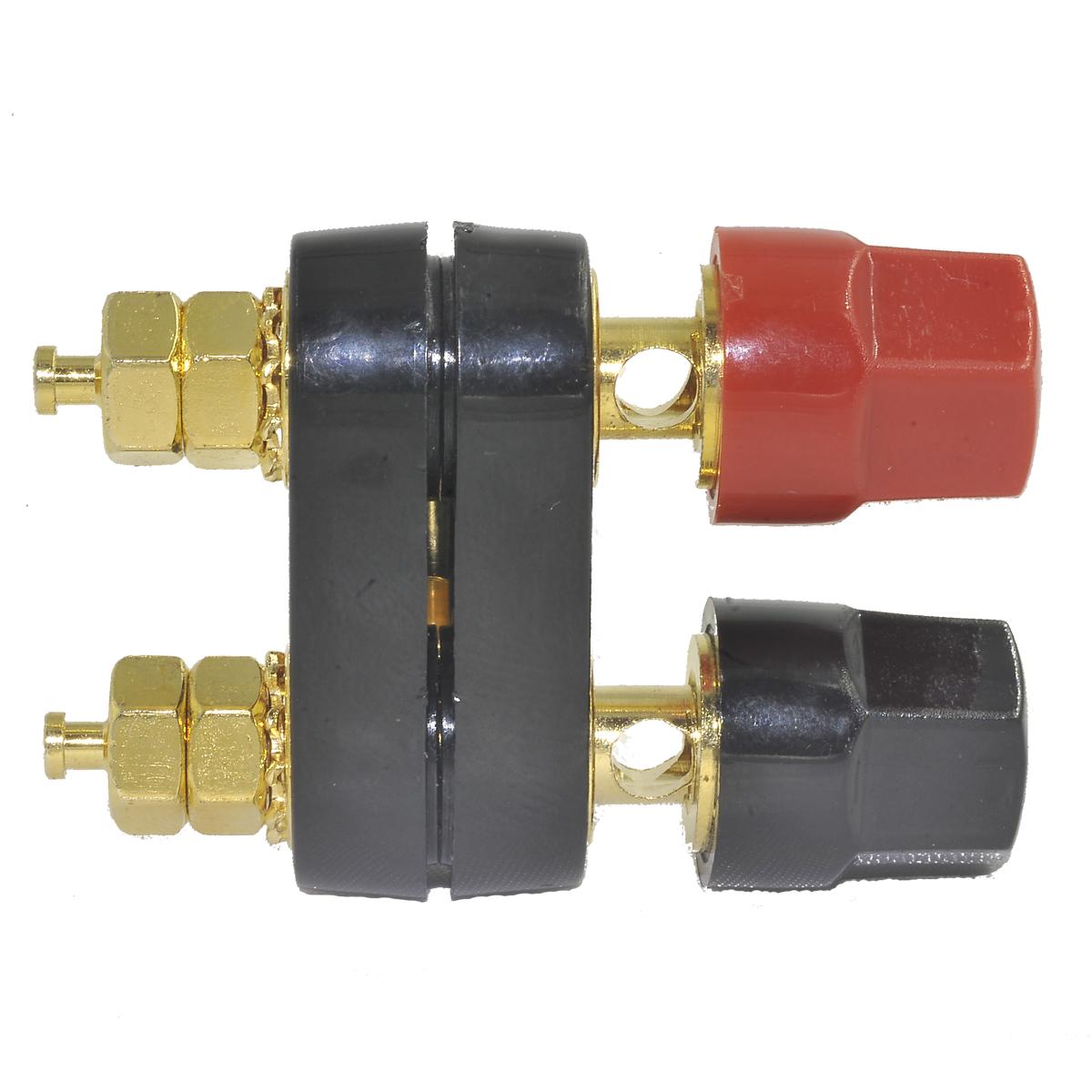 audio speaker amplifier terminal dual binding post banana plug jack socket cable connectors pcb. Black Bedroom Furniture Sets. Home Design Ideas