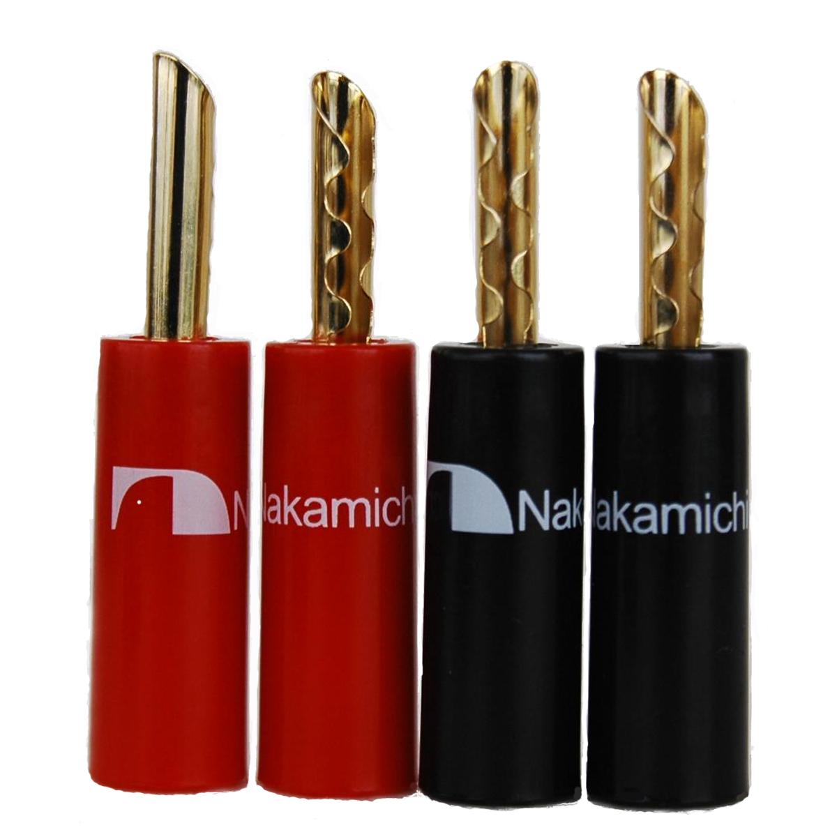Insulation Plastic Handle Nakamichi BFA banana plug Speaker Cable ...